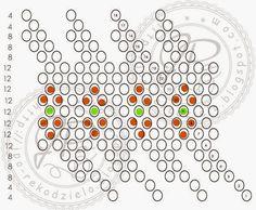 kolejna porcja wzorków na beaded ballsy czyli kulki koralikowe ściegiem peyot, oplatane koralikami Toho 11 lub Precjoza 10 - 11 na kulkach ... Beaded Jewelry, Beaded Bracelets, Bead Crochet, Beads, Knitting, Patterns, Dots, Beading, Block Prints