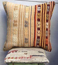 Kilim turco, cuscino Kilim, 50x50cm, etnici kilim cuscino, cuscino, cuscino di inc, vecchia di 20 x 20