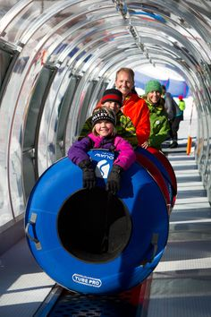 Tubing- so much fun during the winter!