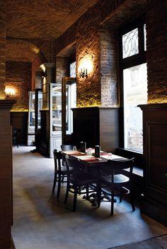 BOTTEGA BARETTI, Turin, Fabio Fantolino. Restaurant IdeasRestaurant  InteriorsCafe RestaurantRestaurant DesignIndustrial ...