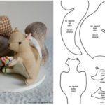 6 moldes para hacer ardillas Squirrels