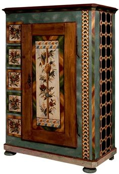 Jean-Pierre Besenval ~ paited armoire