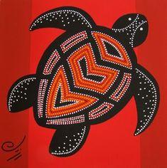 DSC06693 Aboriginal Art Symbols, Aboriginal Patterns, Aboriginal Dot Painting, Dot Art Painting, Classroom Art Projects, Art Classroom, Classe D'art, Art Rupestre, Art Du Monde