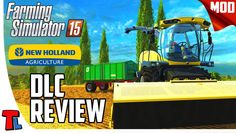 New Holland DLC Review | Farming Simulator 2015 Mods | Loaders Gameplay ...