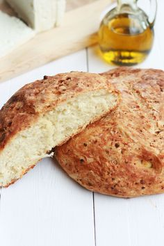 Feta Bread - cookmegreek, authentic Greek recipes.  This is absolutely delicious and easy to make.