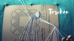 TOMBOLO TUTORIAL | La Rete  - #MerlettoTorchon Bobbin Lace Patterns, Lacemaking, Needle Lace, Crochet Doilies, Tatting, Embroidery Designs, Arts And Crafts, Stitch, Sewing