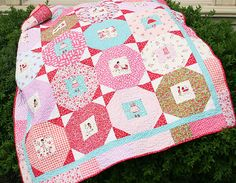 Modern Quilt Pattern // pdf quilt pattern // easy // by QuiltStory