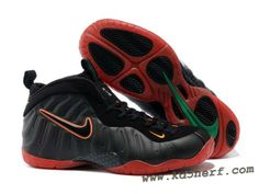 separation shoes d3109 a0e82 Nike Air Foamposite Pro Black Red Green Hot Hurricane Shoes, Cheap Nike,  Cheap Jordans