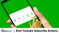 Green Screen Subscribe Button Animated |Top 10 Best Youtube Subscribe Bu... Royalty Free Video, Animation, Buttons, Digital, Green, Youtube, Blog, Blogging, Animation Movies