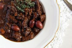 French Beef Stew with Olives