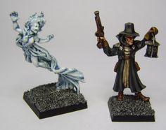 MORDHEIM Banshee and Witch Hunter by FraterSINISTER on DeviantArt