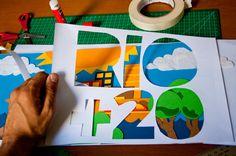 RIO+20, +21, +22, +23... by Grande Circular , via Behance