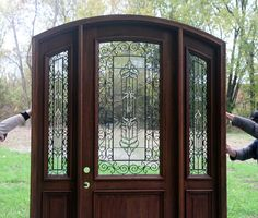 The Bellagio - Pre-finished Radius Arched Top Door