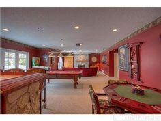 Billiards or poker, anyone?  10168 Powers Lake Point, Woodbury, MN 55129