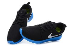 Buy Nike Roshe Run Mens Shoes Breathable For Summer Black Blue Cheap To Buy from Reliable Nike Roshe Run Mens Shoes Breathable For Summer Black Blue Cheap To Buy suppliers.Find Quality Nike Roshe Run Mens Shoes Breathable For Summer Black Blue Cheap To Bu Nike Casual Shoes, Black Nike Shoes, Black Nikes, Michael Jordan Shoes, Air Jordan Shoes, Blue Sneakers, Sneakers Nike, Free Running Shoes, Mens Running