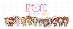 Kpop Girl Groups, Kpop Girls, Kpop Drawings, Japanese Girl Group, First Art, 3 In One, The Wiz, Bae, Fan Art
