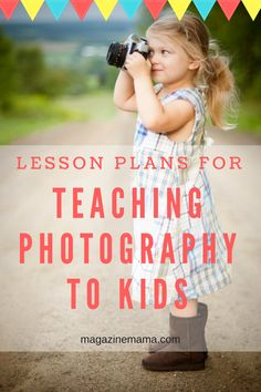 PHOTOGRAPHERS: Are you looking for lesson plans to teach photography to kids?  This Photography for Kids lesson plan bundle is a curriculum that provides a fun photography for kids class to teach photography to children.  This curriculum has been created for kids ages 8-12.  Start a program at your local school, or teach kids in a homeschool group!  You can  use this program in kids camps over summer, winter or spring break! #kidsphotography #photographyclass #digitalphotography