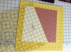 Here are the instructions for a twister quilt without using the ruler. MQuilt Kisses: Twister in Progress