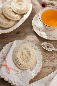 Tea & Springerle Cookies