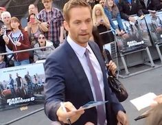 May 2013 at Empire Leicester Square Premiere Cody Walker, Rip Paul Walker, Furious 6, Fast And Furious, Forest Lawn Memorial Park, Eric Hosmer, Eric Decker, Interview, People Magazine