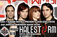 Halestorm w/ Tom Keifer - - House of Blues, Atlantic City, NJ I Love It Loud, Halestorm, Atlantic City, Birthday Bash, Special Guest, Toms, Blues, Concert, Concerts