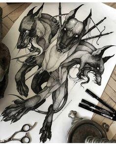 Acab Tattoo, Hades Tattoo, Dark Art Tattoo, Tatoo Art, Body Art Tattoos, Sleeve Tattoos, Tattoo Sketches, Tattoo Drawings, Art Sketches