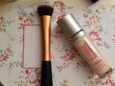 The Rimmel lasting finish breathable foundation is pretty good, it really feels like I have got nothing on my face!