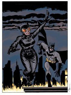 Catwoman  Batman by Evan Shaner