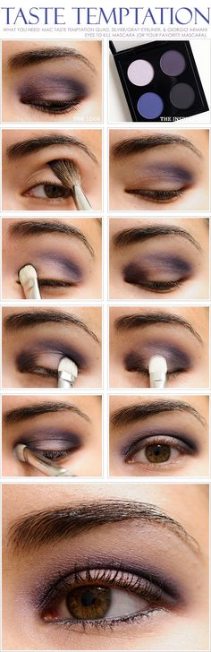 Add a little white eyeshadow in the inner corners and it will finish off the look and make you look more awake! (that trick works for any eye look)