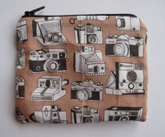 camera coin purse by katesutton on Etsy