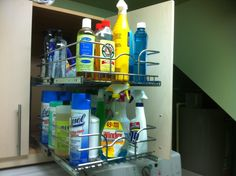 Get Home Decorating: Usable laundry cabinet