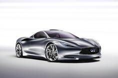 2012 Infiniti Emerg-E Concept - and electric car that will do 0-130mph in a single :30 burst