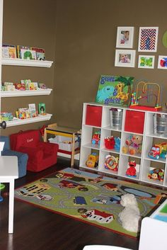 From Overwhelmed to Organized: 31 Days of Organizing: Day 19 (Playrooms)