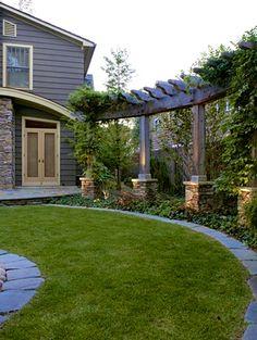 Outdoor Pergola - frame the garden