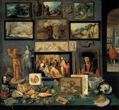 lushlight:  Kunstkammer - Frans Francken II  Flemish 1636  thanks resobscura