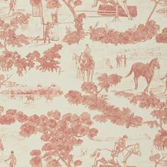 Love this Ralph Lauren fabric.  We used it in my daughter's room