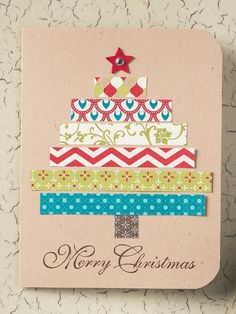 Crafts by Beth: Merry Christmas Card