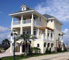 Elevated Raised Piling and Stilt House Plans Coastal Home
