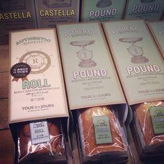 Tous Les Jours - Pound packaging - Seoul 2013 - South Korea Bakery Packaging, Packaging Ideas, Packaging Design, Cake By The Pound, Pound Cake, Korea Cake, Madeleine Recipe, Box Cake, South Korea