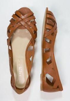 Tendance Chaussures Jonak DERAY Ballerines à bout ouvert cognac ZALANDO.FR