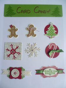 Christmas Card Candy using Scentsational Season.