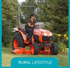 Tractor is out of the barn!  Kubota makes equipment for any size job!