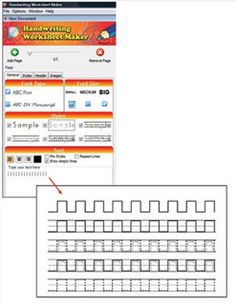 math worksheet : handwriting without tears worksheet maker! type in their spelling  : Handwriting Worksheet Maker For Kindergarten