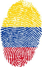 'Venezuela Fingerprint' by Atzerom Colombia Flag, Summer Patterns, South America, Outdoor Blanket, Clip Art, Country, Pictures, Image, Beautiful