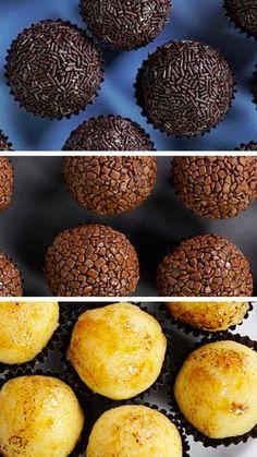 Brigadeiro, uma verdadeira paixão nacional em 3 diferentes versões deliciosas!