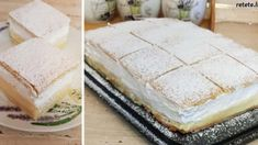 5 Vanilla Cake, Feta, Camembert Cheese, Dessert Recipes, Food And Drink, Cooking Recipes, Pudding, Baking, Sweet