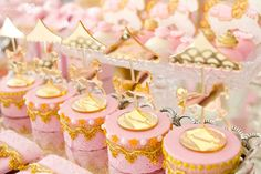 Carousel favors from an Enchanted Carousel Birthday Party on Kara's Party Ideas | KarasPartyIdeas.com (43)