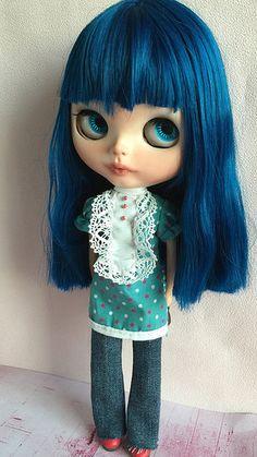 Blue, my new custom doll