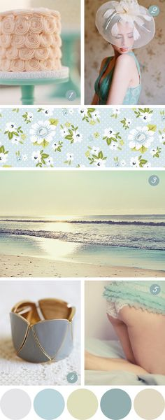 Nice Colour Palette based on patterns, fashion, nature and texture