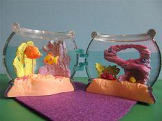 Vintage Littlest Pet Shop Lot Playset Mini Surprise Sweet Swimmy Fish Friends   eBay